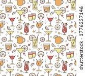 seamless pattern illustration....