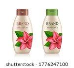 cream shampoo product bottle... | Shutterstock .eps vector #1776247100