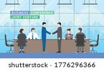 business partner concept. joint ... | Shutterstock .eps vector #1776296366