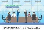 new normal business partner... | Shutterstock .eps vector #1776296369