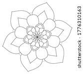 Easy Mandalas Adult Coloring...