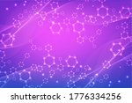science network pattern ...   Shutterstock . vector #1776334256