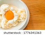 Frozen Eggs Ice Cream   A...