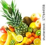 fresh fruits | Shutterstock . vector #177644558