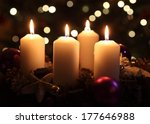 Candles With Christmas...