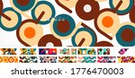set of circles and lines... | Shutterstock .eps vector #1776470003