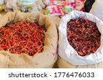 Dried Red Chillies And Byadagi...