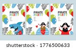 vector sets of bright cards... | Shutterstock .eps vector #1776500633