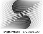 abstract halftone lines... | Shutterstock .eps vector #1776501620