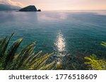 Sunlit Path Over Adriatic Sea....