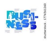 business concept poster design... | Shutterstock .eps vector #1776561260