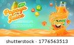 horizontal banner with 3d... | Shutterstock .eps vector #1776563513
