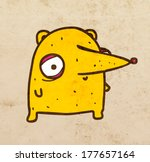 cute hand drawn vector... | Shutterstock .eps vector #177657164