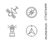 navigation pixel perfect linear ... | Shutterstock .eps vector #1776574499