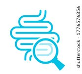 human colon medical examination ... | Shutterstock .eps vector #1776576356