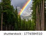 Bright Rainbow In Sunlight...