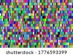 Multicolor Rectangles Vector...