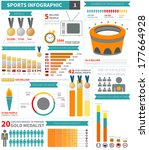 Sport Infographic Elements Wit...