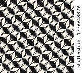 vector monochrome geometric... | Shutterstock .eps vector #1776658829