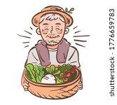rural farmer grandfather... | Shutterstock .eps vector #1776659783
