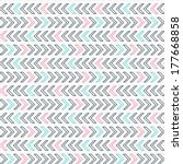 geometric seamless pattern in... | Shutterstock .eps vector #177668858