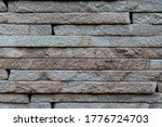 Wall Surface Texture Of Hewn...