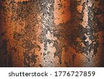 distressed overlay texture of... | Shutterstock .eps vector #1776727859