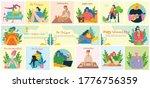 women activities backgrounds....   Shutterstock .eps vector #1776756359
