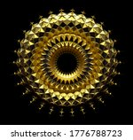 3d Render Of Abstract Art Of...