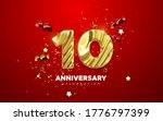 10th anniversary celebration.... | Shutterstock .eps vector #1776797399