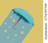 Umbrella. Vector Illustration....