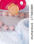 birth control pills with... | Shutterstock . vector #177681884