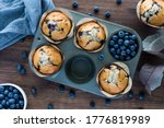 Blueberry Muffins In A Muffin...