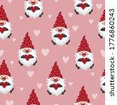 valentines day seamless pattern ... | Shutterstock .eps vector #1776860243