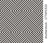 abstract ornate interlaced... | Shutterstock .eps vector #177691523