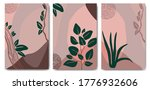 set poster of abstract trendy... | Shutterstock .eps vector #1776932606