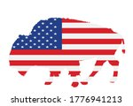united states of america flag... | Shutterstock .eps vector #1776941213
