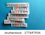 success  acronym  in business... | Shutterstock . vector #177697934