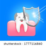 healthy senior tooth and gum...   Shutterstock .eps vector #1777116860