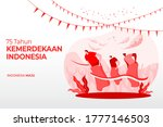indonesia independence day... | Shutterstock .eps vector #1777146503