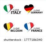 Set Of Four Italian  German ...