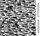 seamless pattern with dark hand ... | Shutterstock .eps vector #1777251236