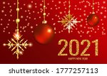 greeting card with happy new... | Shutterstock .eps vector #1777257113