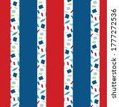 Terrazzo Style Striped Seamles...