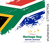 Happy Heritage Day South Africa ...