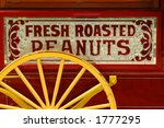 colorful peanut vendor's cart | Shutterstock . vector #1777295