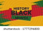 black history month. african... | Shutterstock .eps vector #1777296800