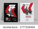 corporate book cover design... | Shutterstock .eps vector #1777328306