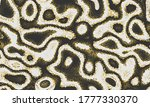 yellow repeated water graphic... | Shutterstock .eps vector #1777330370