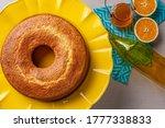 Homemade Orange Cake In A...